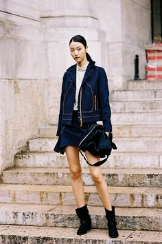 Vanessa Jackman: Paris Fashion Week SS 2015....Ji Hye