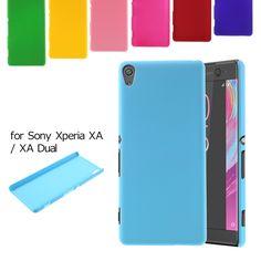 coque capa fundas For Sony Xperia XA Case Rubberized Hard Protective Case for Sony Xperia XA / XA Dual - 5.0 inch