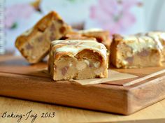 Peanut butter and caramel cookie bars 5