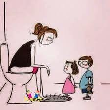 i diritti perduti delle mamme: la privacy in bagno