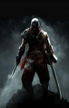 Progression of the Brotherhood by morokeiill (Society6)   #videogames #gaming #ubisoft #assassinscreed #fanart