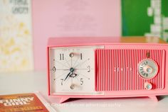 Looking for more powerful alarm clocks to wake you up in the morning? // Click here to view: http://theendearingdesigner.com/12-best-alarm-clocks-for-heavy-sleepers/ | retro alarm clock.