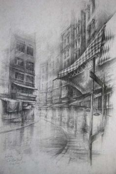 Wan Chai Road » Ian Murphy Drawings