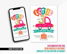 Drive By Birthday Parade Invite | Boy or Girl Quarantine Birthday | Digital Printable Stay at Home Invitation | Honk Wave Parade Football Party Invitations, Printable Birthday Invitations, Safari Birthday Party, Boy Birthday Parties, Third Birthday, Boy Or Girl Sign, Diy Party Supplies, Party Signs, Birthday Photos
