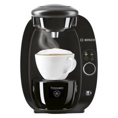 TASSIMO T20 Single Cup Home Brewing System - Black