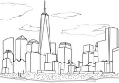 20 Best New York Coloring Pages Images On Pinterest