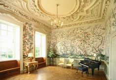 Music Room, Halswell House