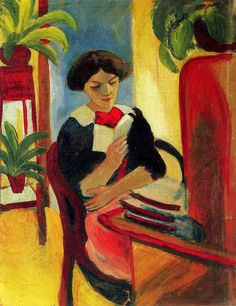 Macke,+August+(1887-1914)+Elisabeth_am_Schreibtisch.jpg (788×1024)