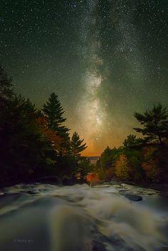 Muskoka Night Sky.