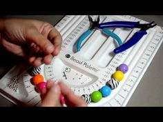 Tutortial:How to make a Chunky Acrylic Necklace with wire by CandyshopbeadsUS - YouTube