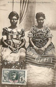 Femmes Apolloniennes, Côte d'Ivoire