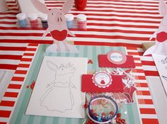 Amy's Party Ideas: Olivia the Pig Party {Real Party}