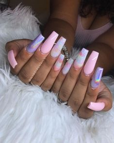 It's time to put your nails in a coffin! Well, not in a coffin but a coffin on your nails! Today we have 40 of the Best Coffin Nails for Cute Acrylic Nails, Acrylic Nail Designs, Nail Art Designs, Glitter Nails, Pedicure Nail Designs, Manicure Ideas, Nail Tips, Nail Ideas, Gorgeous Nails