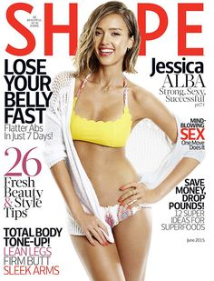 How To Get Jessica Alba's Athletic Abs In 30 Minutes A Day