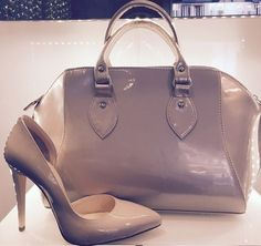 Albano shoes and Bags ! This model is very glamour!!