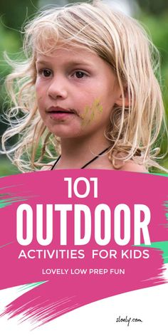 A massive list of easy outdoor activities for kids for a summer of fun. These DIY outdoor play ideas are all cheap, easy and low prep but give kids loads of space to burn off physical energy, be creative and get in touch with nature. #outdooractivities #kidsoutdooractivities #outdooractivitieskids #kidsoutdoorfun #kidsoutdoorideas Outdoor Fun For Kids, Outdoor Activities For Kids, Outdoor Learning, Outdoor Play, Outdoor Games, Gross Motor Activities, Infant Activities, Fun Activities, Language Activities