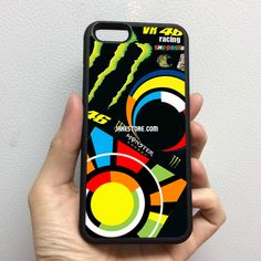 Valentino Rossi The Doctor 46 Sun and Moon iPhone Rubber Case 4 4s 5 5s 5c 6 6s Plus Softcase Hybrid