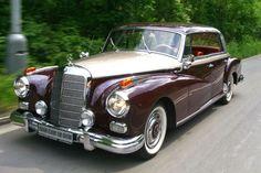 german-cars-after-1945: 1958 Mercedes 300 D...