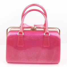 Lil+Lo Barbie Pink Sparkle Satchel Jelly Handbag Brand new Lil + Lo Jelly Handbag!  Unique zip to open across the top and down the sides!  Large roomy bag. A definite fashion statement wherever you go!  Discounts available with bundle only. 🚫NO TRADES🚫 We ship fast! 🎀 ❤️❤️ LAST PRICE DROP!  NO OFFERS ACCEPTED❤️❤️ Lil + Lo Bags Satchels