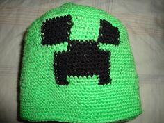 Gorro de lana (croche) mine craf