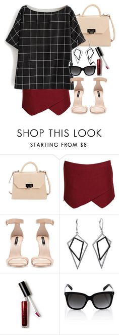 Lydia Inspired Summer Internship Outfit by veterization on Polyvore featuring Boohoo, Zara, Väska, Warehouse and Forever 21