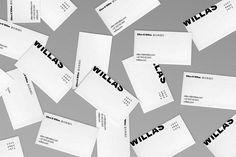 Willas Contemporary branding by Nicklas Haslestad