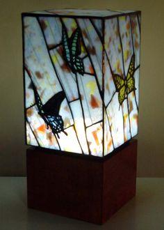 Japanese glass artist Tashiro.