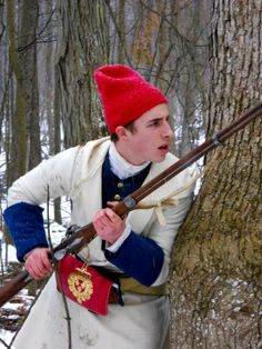 From the Fort Ticonderoga f acebook page French Revolution, American Revolution, Fort Ticonderoga, Canadian Clothing, Winter Quarters, Seven Years' War, 18th Century Clothing, My War, War Of 1812