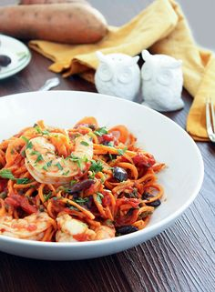 Pasta Puttanesca With Hot Sausage And Bocconcini Recipe — Dishmaps