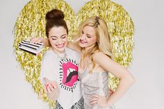 A Galentine's photo booth!