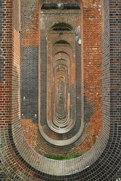 The Ouse Valley or Balcombe Viaduct was built between 1839 and 1841 [design by John Urpeth Rastrick].