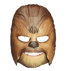 Chewbacca Mask Costume Star Wars Force Awakens Electronic Talking Toy Gift