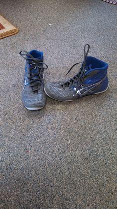 be0e8c226b23 Wrestling Shoes in ClaytonFamily s Garage Sale in Shepherd