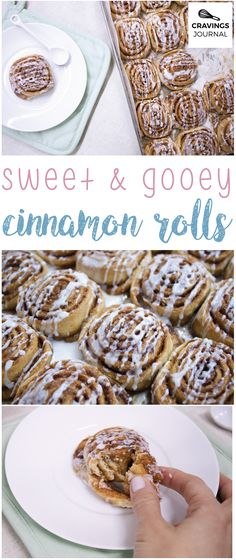 These must be the best cinnamon rolls I've ever tasted. Finally a dough that's as nice as the filling! Sweet, gooey and amazing.