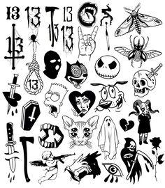 Marquesan tattoos cute tattoo flash, moth tattoo flash, kewpie t… – Yenirus Flash Art Tattoos, Tattoo Flash Sheet, Kritzelei Tattoo, Doodle Tattoo, Spider Tattoo, Cupid Tattoo, Grunge Tattoo, Punk Tattoo, Tattoo Quotes