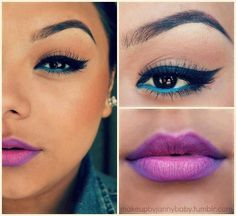 ombre lips :)