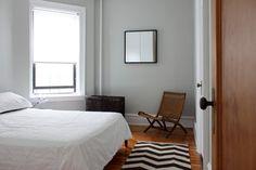 Brooklyn apartment - modern - Bedroom - New York - Maletz Design Beige Carpet, Modern Carpet, Chevron Carpet, Black Carpet, Carpet Decor, Rugs On Carpet, Carpet Ideas, Shag Carpet, Home Decor Bedroom