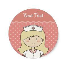 Enfermera Del Dibujo Animado Camisetas, Enfermera Del Dibujo ...