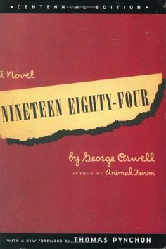 Nineteen Eighty-Four, Centennial Edition by George Orwell https://www.amazon.com/dp/0452284236/ref=cm_sw_r_pi_dp_qCRHxb0NQE6S3