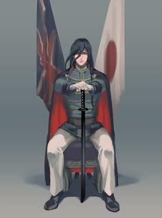 Sh*t Post of Touken Ranbu! Touken Ranbu Kanesada, Cool Swords, Naruto Oc, Husband Wife, Anime Boys, Asian Art, Guys, Sexy, Tired