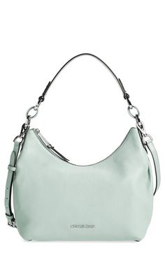Free shipping and returns on MICHAEL Michael Kors 'Medium Isabella' Convertible Leather Shoulder Bag at Nordstrom.com. Polished silvertone hardware shines against the grainy leather of a slouchy hobo topped with an easy over-the-shoulder strap. An optional, adjustable strap is included, instantly transforming your hobo into a crossbody bag.