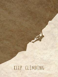 Jeep climbing  Keep Climbing - Rock Climbing/Bouldering Digital Print etsy