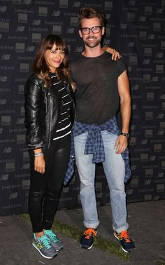Rashida Jones and Brad Goreski hang out at the James Jeans x New Balance x Isko Twiggy Dancer Launch Party. See what all the celebs were raving about! http://jamesjeans.us/new-arrivals/new-james-twiggy-dancer