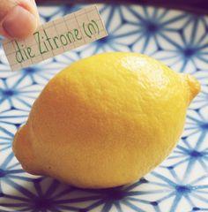 die Zitrone - lemon