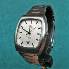 CYMA NAVYSTAR SYNCHRON Automatic Vintage Watch Montre Orologio Reloj Uhr Swiss Vintage Watches, Ebay, Accessories, Watch, Clock, Antique Clocks, Antique Watches, Vintage Clocks