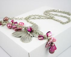Necklace vintage style boho chic romantic by PiaBarileJewelry, $33.00