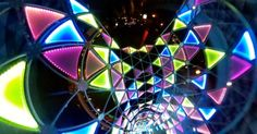 TOKYO DOME CITY Winter Illumination, 2014 [LINK] Spherical Image | RICOH THETA