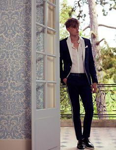 """Pierre Balmain enlists Bastiaan Van Gaalen for their Spring/Summer 2013 lookbook. The collection was inspired by Jacques Demy's 1963 film """"La Baie des Anges"""" and the glamour of the French Riviera."""