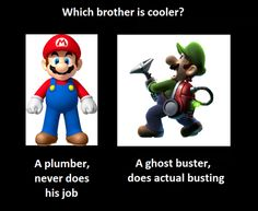 Which Mario Brother is Better?
