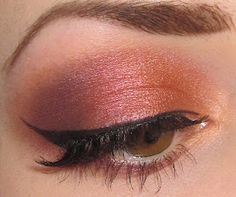 Warm Summer Makeup look with 26 Shadow Blush Palette  - LOVE!!